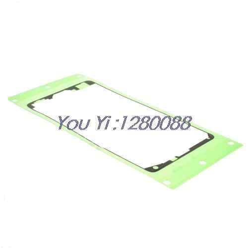 5ชิ้น/ล็อตสำหรับSamsung Galaxy Note 4 N910 OEMด้านหน้าที่อยู่อาศัยกรอบสติ๊กเกอร์กาว