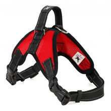 Nylon Heavy Duty Dog Pet Harness Collar Padded Extra Big Large Medium Small Harnesses vest Husky Dogs Supplies