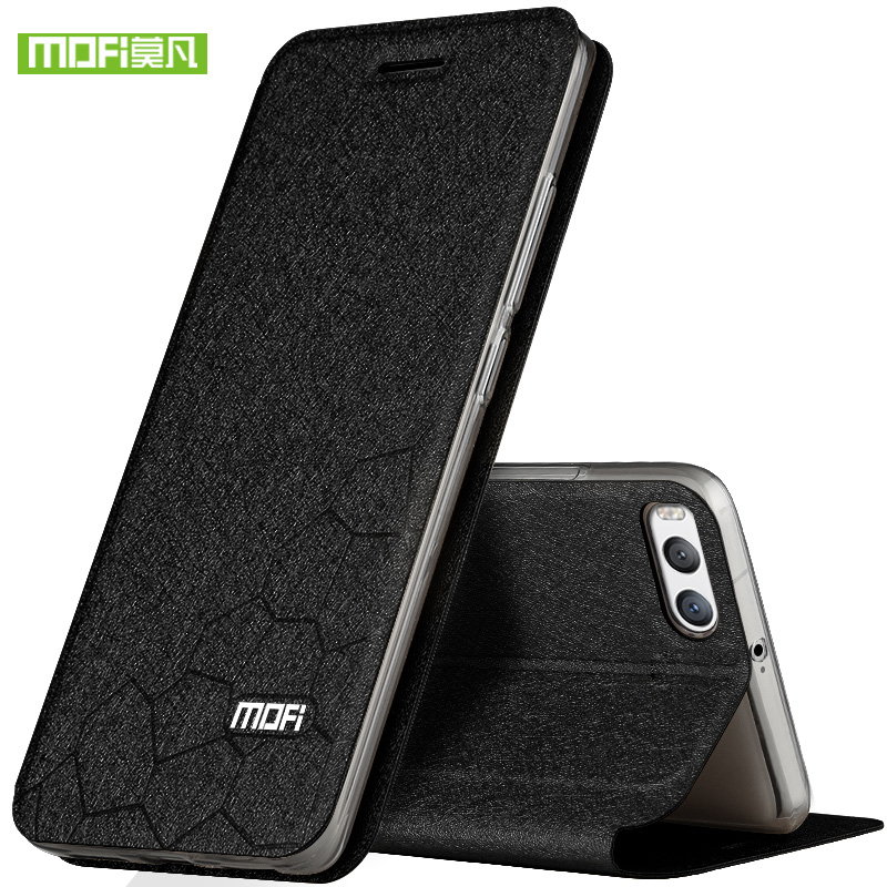 MOFI Flip Leather Case För Xiaomi 6 5.15 Flip Bag for Mi 6 Case Shield Fundas With Stand Function PU Leather + Soft Case Cover
