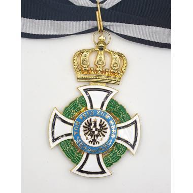 EMD WW1 German House Order Of Hohenzollern Commander Class1