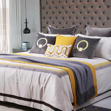 купить Home Decorative  Sample room decoration pillow + velvet embroidery pillow gold leather embroidered cushion cover дешево