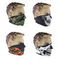Original Ghost Skull Face Mask  Cosplay Balaclava Paintball Outdoor Cycling Motorcycle Hood War Game Airsoft Tactical Masks