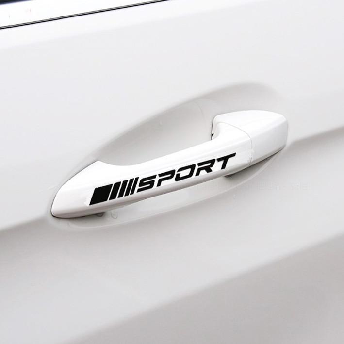 5pcs Mercedes-Benz Door Handle sticker decal