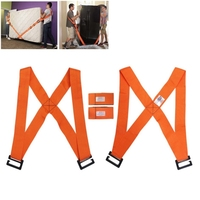2PCS Carry Furniture Lifting Moving Belt Furniture Transport Rope Straps For Lifting Easy Carry Tool Lifting