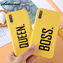 For Samsung Galaxy A70 Soft TPU Yellow Cover Case For Samsun