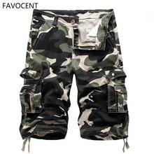 купить New Cargo Shorts Men Top Design Camouflage Military Army Khaki Shorts Homme Summer Outwear Hip Hop Casual Cargo Camo Men Shorts по цене 1036.24 рублей