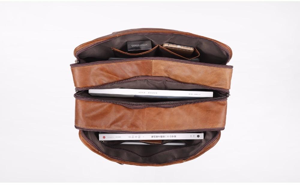HTB1iWoYdRbM8KJjSZFFq6yynpXam JOYIR Genuine Leather Men Briefcases Laptop Casual Business Tote Bags Shoulder Crossbody Bag Men's Handbags Large Travel Bag