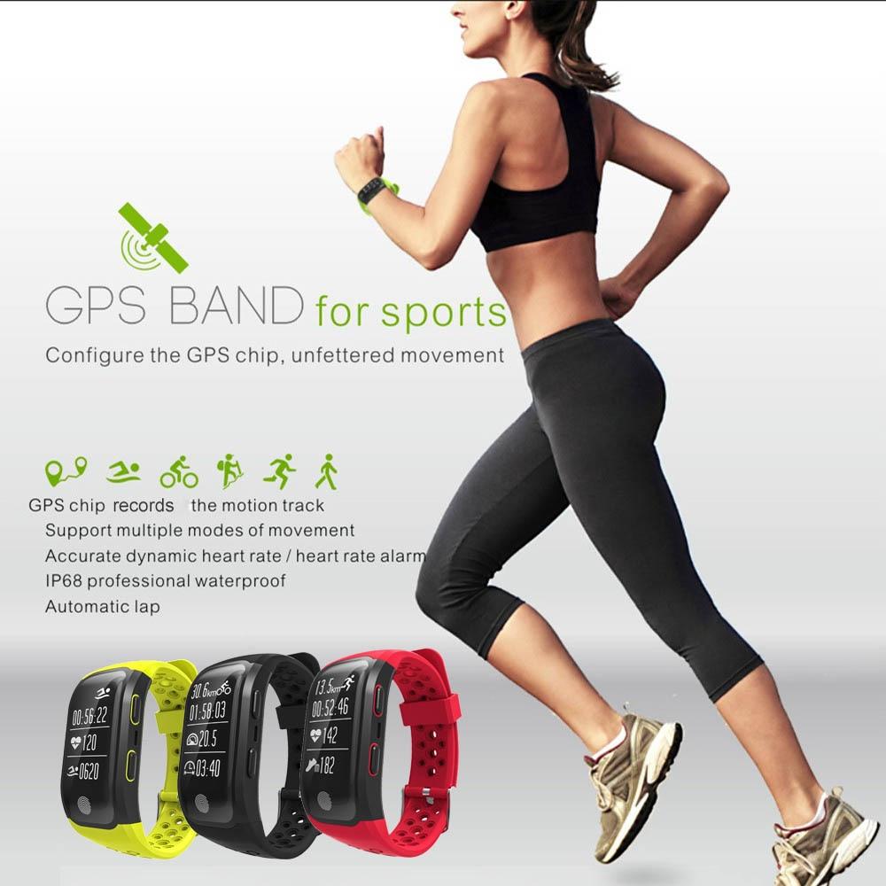 c5790a50e53 2018 Smart Bracelet IP68 Waterproof Watch S908 GPS Smart WatcHeart Rate  Wristband Sleep Monitor Fitness Pedometer Sport Tracker-in Smart Wristbands  from ...