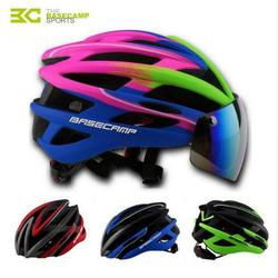 Rower nowych mężczyzna kaski męskie okulary przeciwsłoneczne jazda na rowerze okulary przeciwsłoneczne formowane integralnie Mountain Road kaski rowerowe darmowa wysyłka|Kaski rowerowe|   -