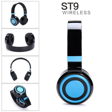 Foldable Bass Stereo Bluetooth Headphone Sport Wireless Headband Music Headset With Mic Noise Reduction Portable Headphone