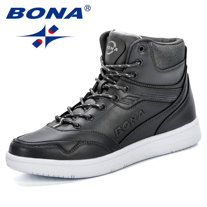 BONA New Style Men Boots Fashion Microfiber Men Shoes 2019 Spring Autumn Trendy Footwear For Man