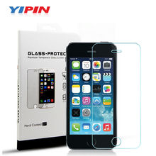 Yipin Tempered Glass for iPhone 5 5s 5c se Screen Protector for iPhone5 iPhone5s i Phone5 iPone 5 Glass Film