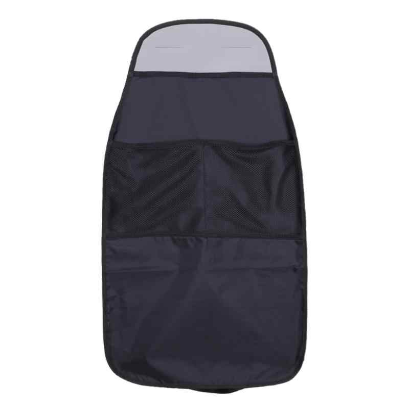 Waterdichte Universal Car Seat Terug Scuff Dirt Protector Cover Kind Baby Kid Anti-kick Mat Modder Pad Auto Organizer opbergtas