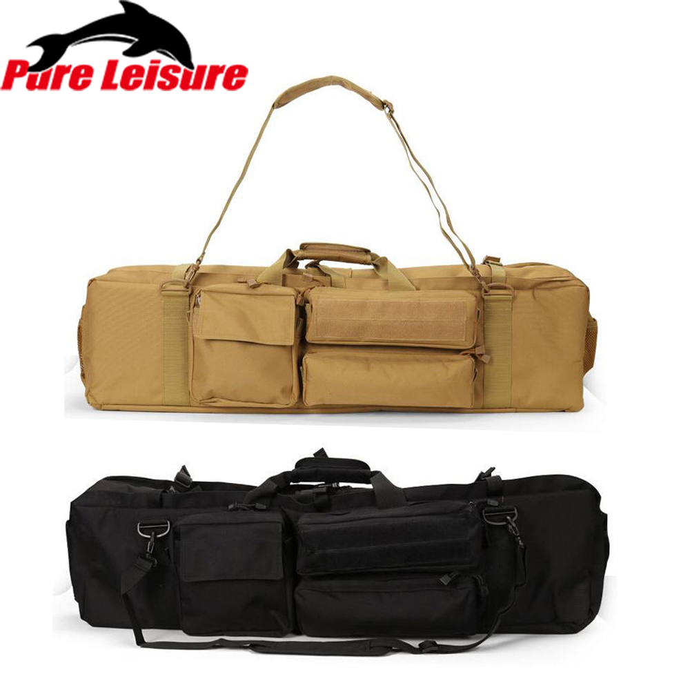 95cm High Quality Fishing Bags Folding Fishing Rod Carrier Canvas Fishing Pole Tools Large Storage Bag Case Fishing Gear Tackle все цены