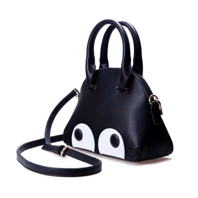 Cartoon Big Eyes Shell Bag Women Korean Style Fashion font b Handbag b font Lovely Designer
