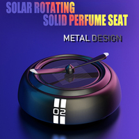 New Solar Power Rotation Car Air Freshener Fragrance Perfumes Auto Accessories For Mini Cooper F54 F55 F56 F60 R55 R56 R60 R57