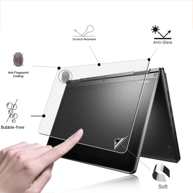 Premium Anti-Glare Screen Protector Matte Film For Lenovo ThinkPad Yoga 260 12.5 Inch Tablet Front Matte Protective Films