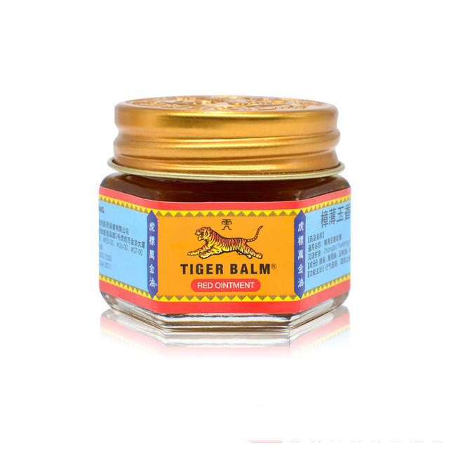 Red White Tiger Balm Ointment Painkiller Muscle Pain Relief Ointment Soothe itch for Headache and suffy nose 19.4g