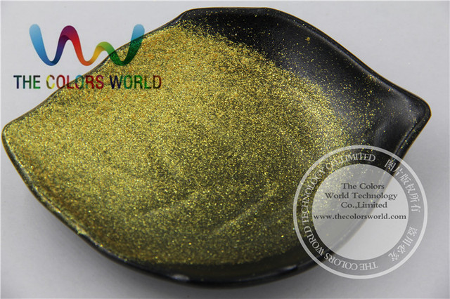 TCWZ676  Very Shinning Gold color   Pigment Powder  for nail Art , gel  nail polish or other DIY decoration