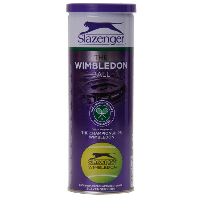Original Slazenger Wimbledon Official Tennis Balls