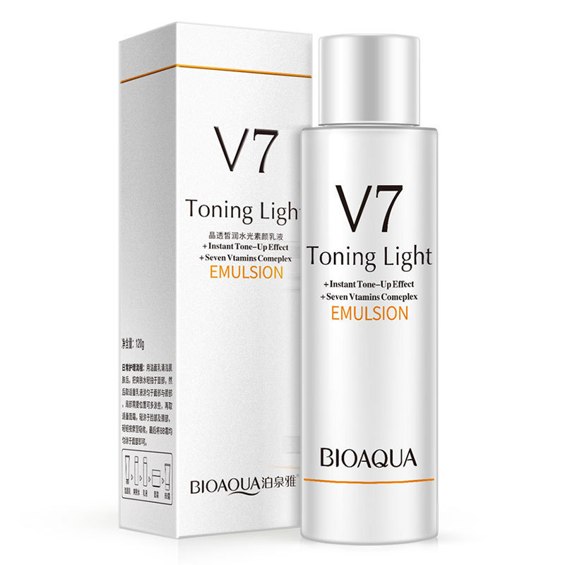 BIOAQUA Dr V7 emulsion Toning Light Hit Bottom Cream 120g