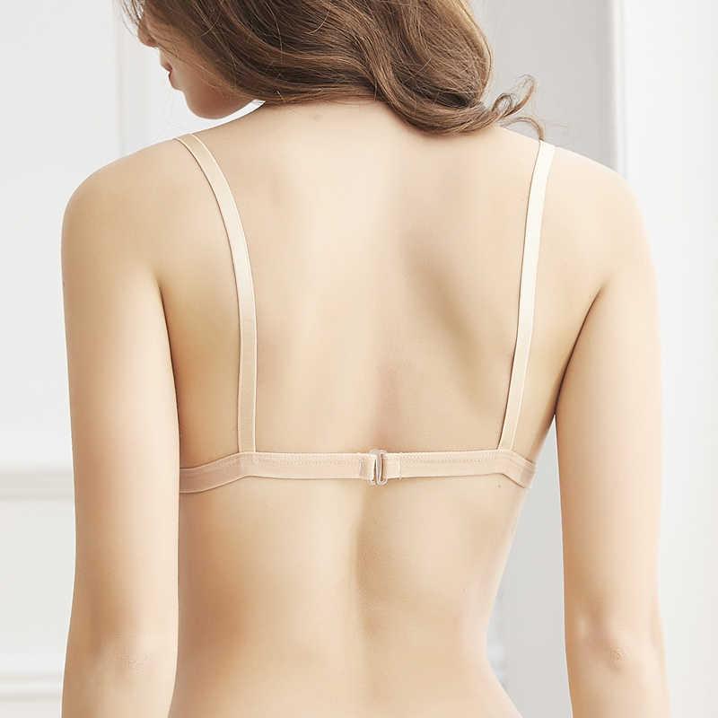 Deruilady Áo Ngực Bra Nữ Siêu Mỏng Một Mảnh Đúc Thông Hơi Không Áo Lót Bra Liền Mạch Gợi Cảm Rỗng Ra Áo Bralette Dây Giá Rẻ Áo Lót Ngực Cho phụ nữ