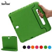 EVA Draagbare Handvat Stand Kinderen Veilig Foam Shockproof Cover Voor Samsung Galaxy Tab S 10.5 inch T800 T805 Full Body bescherming Case
