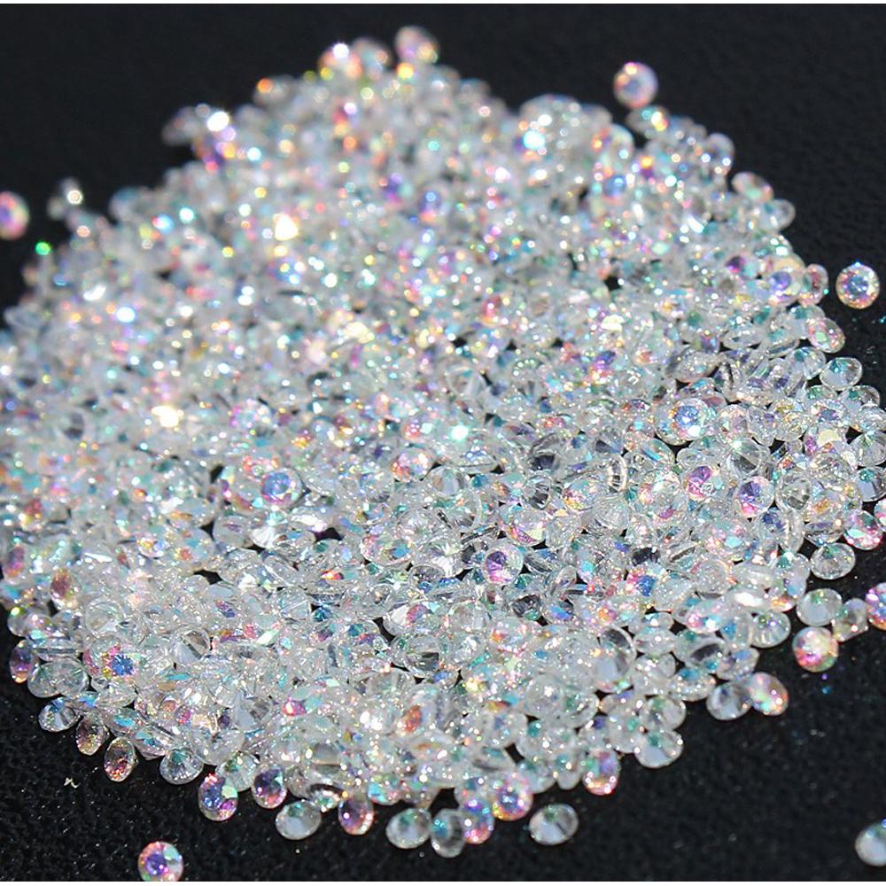 smartcolor nuevo unids mm muchos colores circn rhinestones micro piedras mini nail art piedras