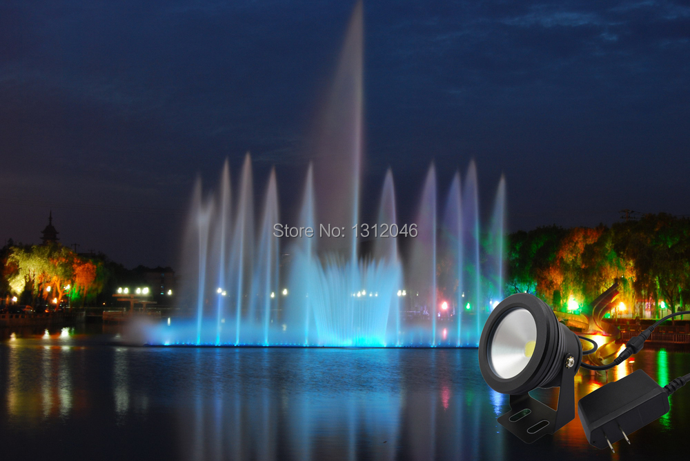 10w 12v led underwater light for fountain pool (5)1