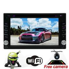 Upgrade Version with Backup Camera! EinCar Car Radio 7 Inch Touch Screen Auto Radio In Dash Navigation Double 2 Din Car DVD Play