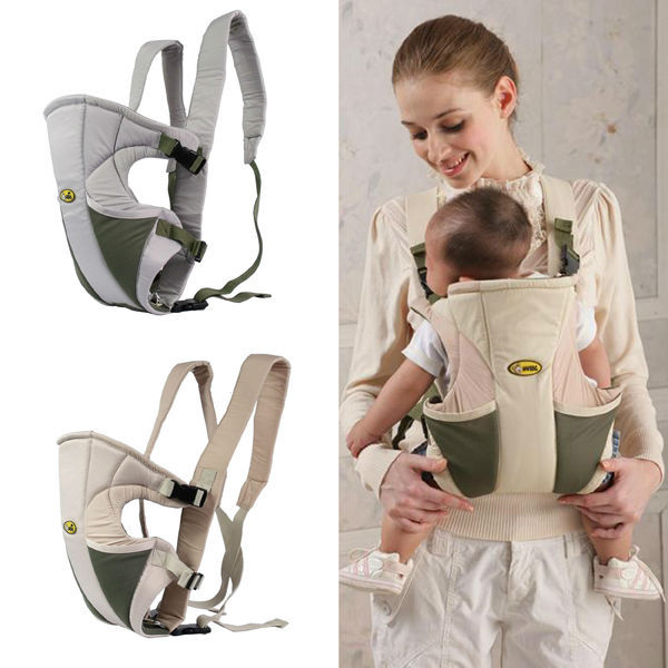 Free Shipping Soft Front Backpack Baby Carrier Wrap Sling Pouch