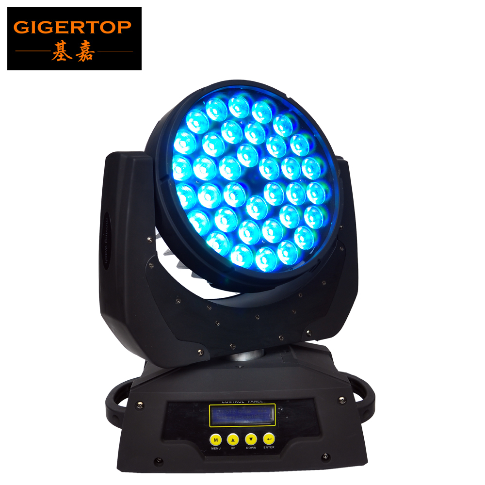 CHINA TITPOP 36x10W Led Moving Head Wash Light No Zoom Function Cheap Price Quad Color RGBW 4IN1 Smooth Power Motor Disco/Club