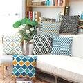 Estilo nórdico de Rayas A Cuadros geometría Cojín sin interior Home Decor Sofá Asiento de la Silla Decorativa Throw Pillow almofada cojines