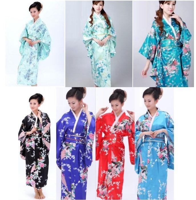 free shipping Fashion kimono japanese yukata traditional kimono Vintage  Japanese Obi Evening Dress Stage costumes for 5270293ca61b