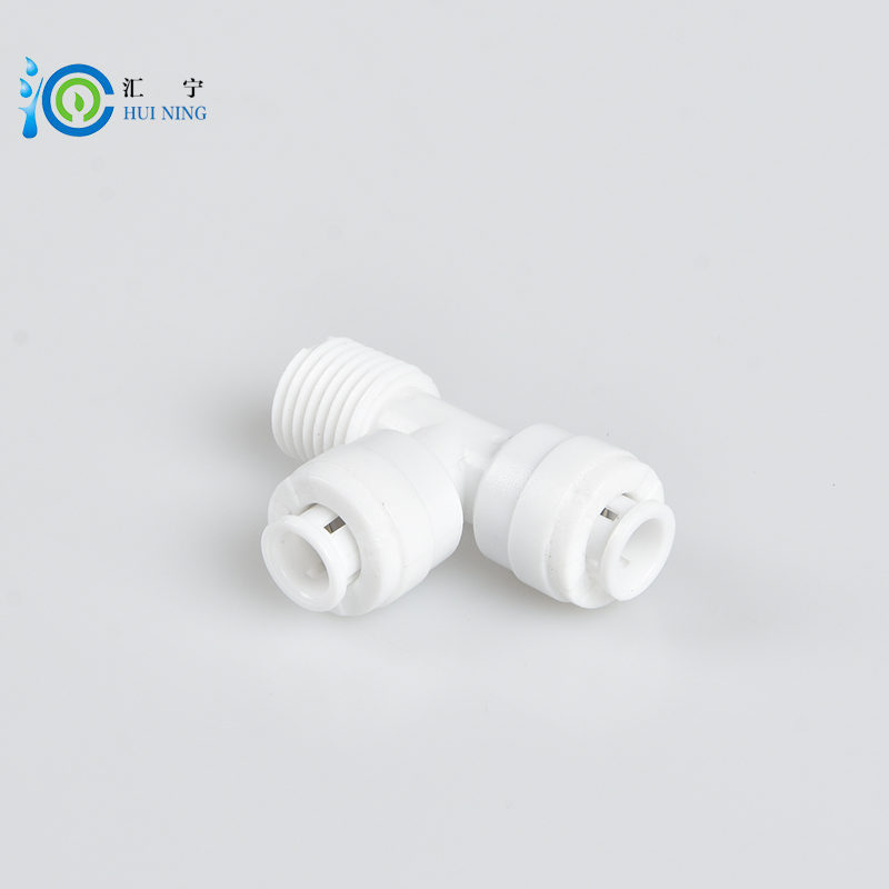 Free Shipping 1/4inch tube water filter connector male Union tee adapter ST004A water purifier pipe quick connector adapter недорго, оригинальная цена