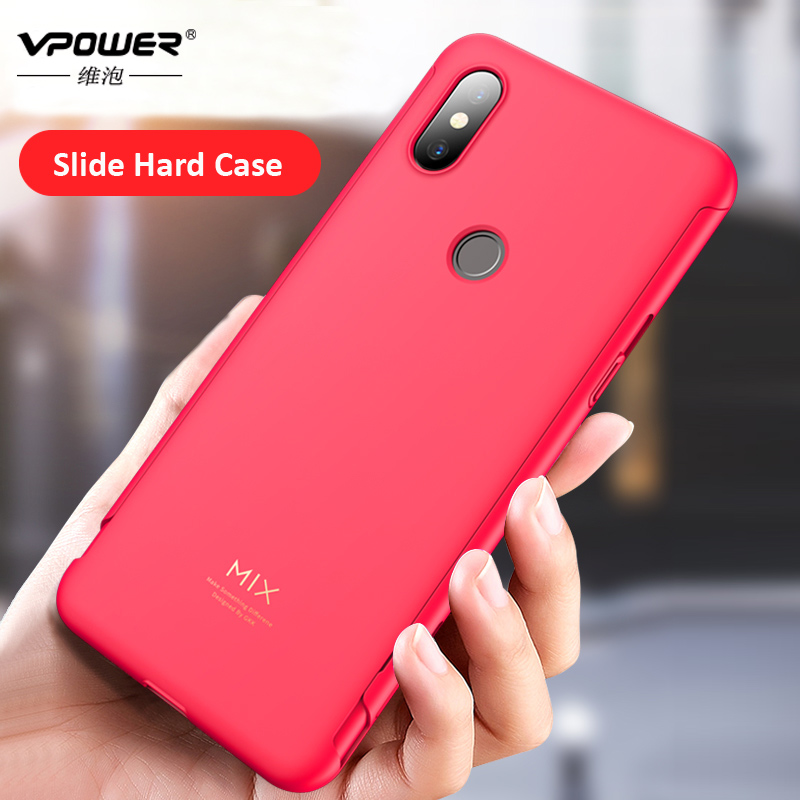 Vpower 2 in 1 Slide Case for Xiaomi Mi Mix 3 Vpower Ultra Thin PC hard matte protection Case For Xiaomi Mix 3 phone back coverVpower 2 in 1 Slide Case for Xiaomi Mi Mix 3 Vpower Ultra Thin PC hard matte protection Case For Xiaomi Mix 3 phone back cover
