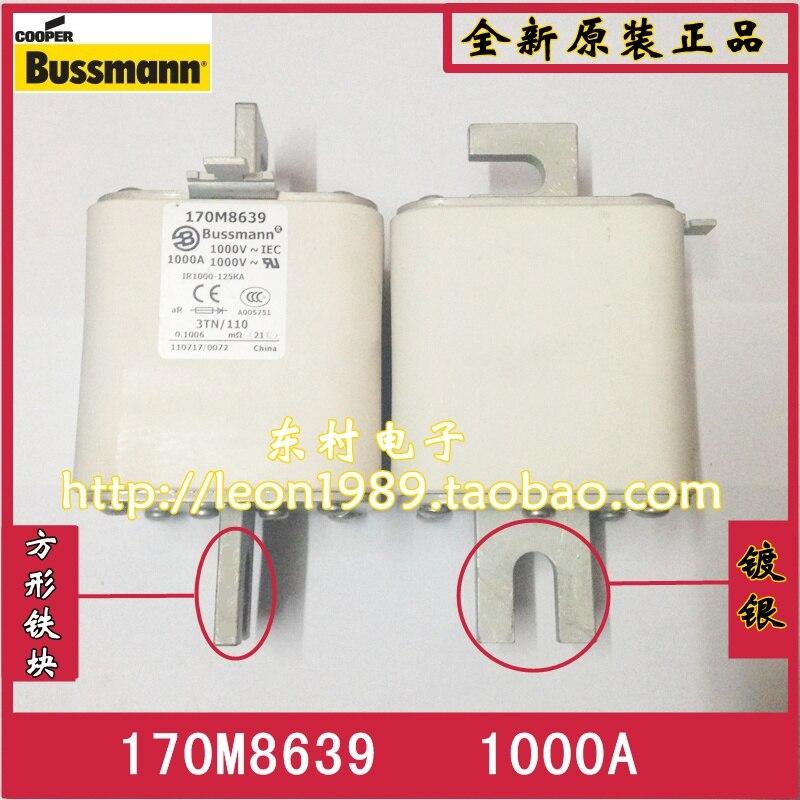 US BUSSMANN fuse 170M8639 1000A 1000V 170M8635 Fuse us bussmann fuse tcf45 tcf40 tcf35 35a tcf30 600v fuse