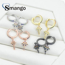 5Pairs, Women Fashion Jewelry,The Rainbow Series,TheStar Shape Earrings.4 Colors,Can Wholesale