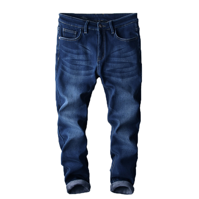 2017 new hot men s jeans plus men and winter thickening casual slim stretch men s