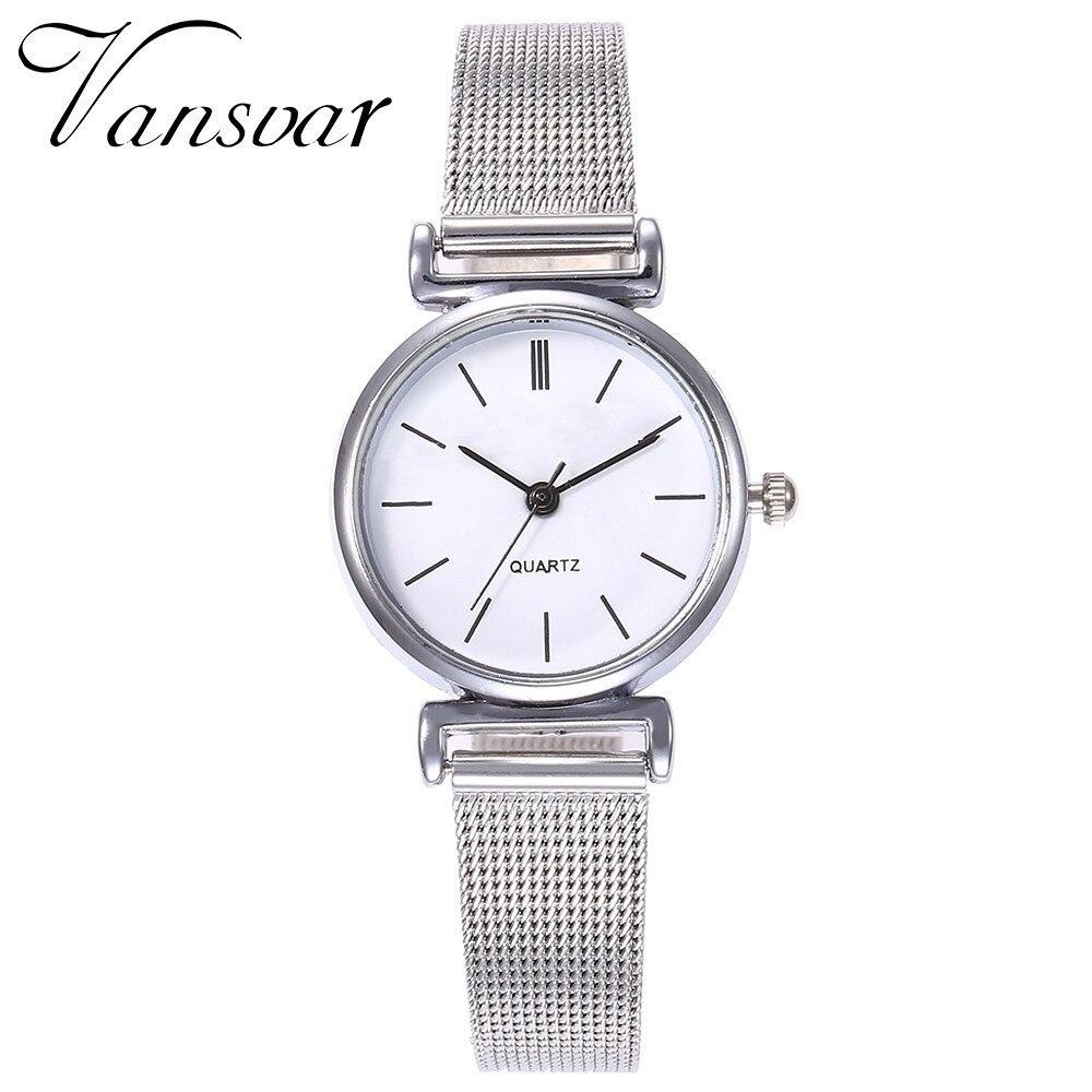 Drop Shipping Fashion Women Silver Mini Design Quartz Wrist Watch Casual Women's Simple Watch Female Clock Relogio Feminino
