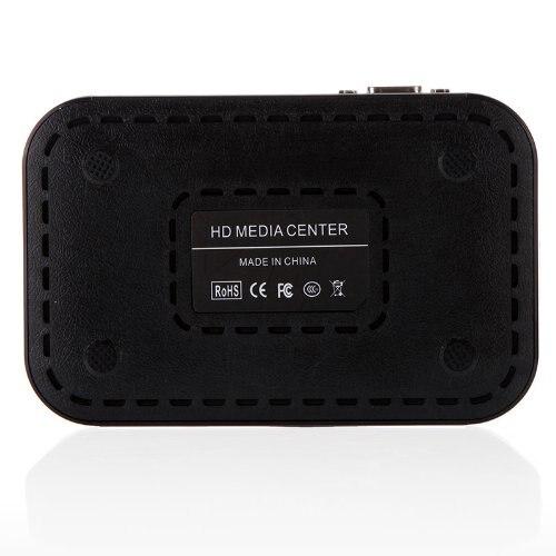 Full HD 1080P медиаплеер центр RM/RMVB/AVI/MPEG Мульти Медиа Видео плеер с HDMI VGA AV USB SD/MMC Порт дистанционного управления