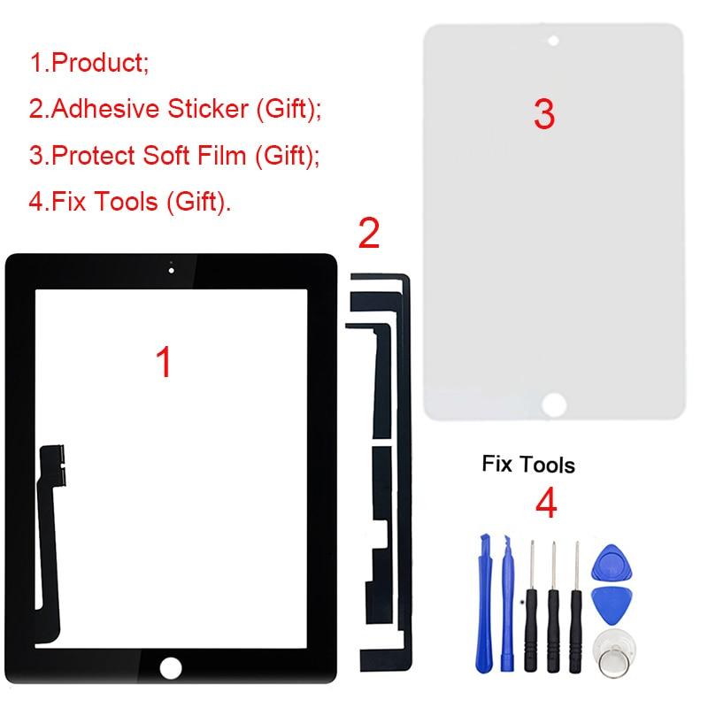 1Pcs For iPad 4 4th Gen A1458 A1459 A1460 9.7
