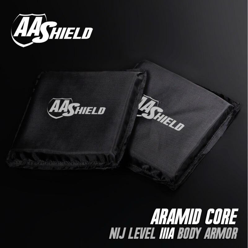 AA щит пуленепробиваемые мягкие Панель Средства ухода за кожей Панцири Подставки плиты арамидных core самообороны питания nij LVL IIIA 3A 6X6 пар