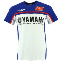 Free Shipping 2017 NEW 2018 Moto GP No 25 FOR Yamaha M1 Factory Racing T Shirt