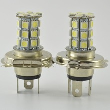 2pcs H7 H4 Fog Lamps 27 LED 3528 1210 SMD Pure White for Auto Car Light Source H7 Fog Headlight Parking Driving Lamp Bulb DC 12V best price h7 27 led 5050 smd canbus error free super white car auto light source fog drl headlight bulb lamp dc12v