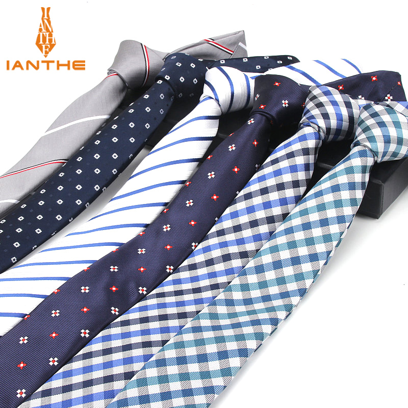 Brand New Men's Suit Tie Classic Men's Striped Necktie Formal Wear Business Bowknots Ties Male Polyester Skinny Slim Ties Cravat