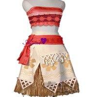 Moana Cosplay Costume Princess Moana Beautiful Dress CS356201