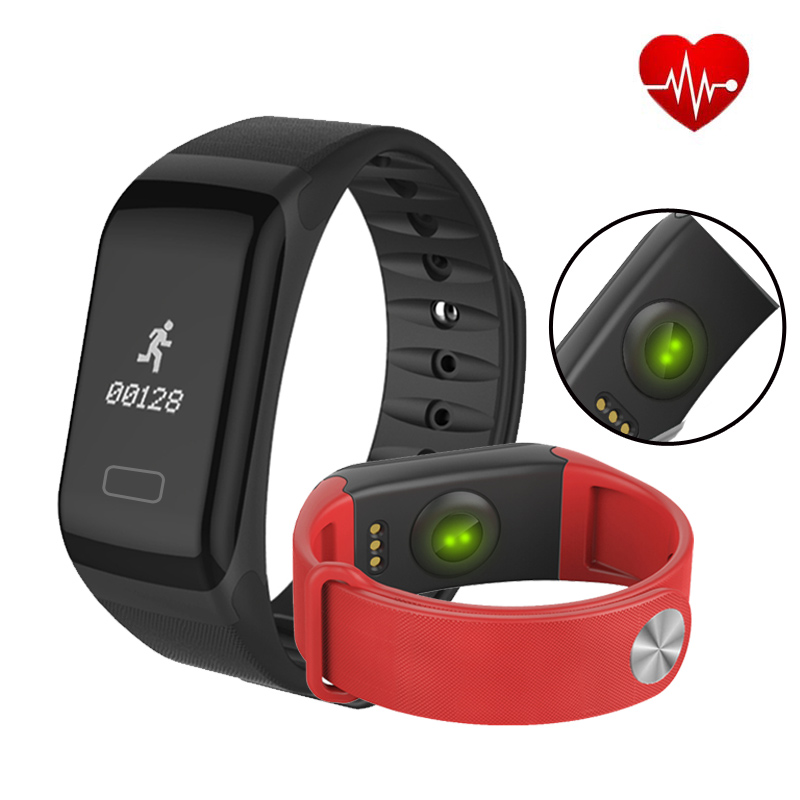 TapicRay Smart Band F1 Blood Pressure Fitness Health Smart Bracelet Heart Rate Sleep Activity Tracker Wristband  Watches