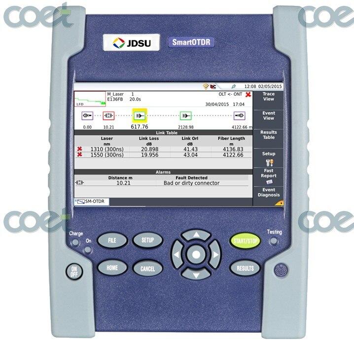 Optical Fiber JDSU VIAVI E100AS Smart OTDR SM OTDR 1310/1550nm 33/31dB JDSU SMARTOTDR with FC-UPC connector, 1 Year WarrantyOptical Fiber JDSU VIAVI E100AS Smart OTDR SM OTDR 1310/1550nm 33/31dB JDSU SMARTOTDR with FC-UPC connector, 1 Year Warranty