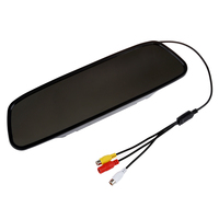 5 5 Inch Digital Color TFT LCD Car Rearview Mirror Reverse Monitor For Camera DVD VCR